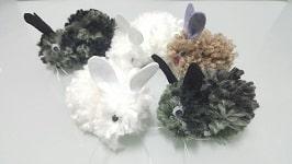 Conejitos de lana