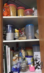 Almacenar comida sin gluten
