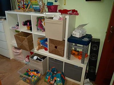 Método Marie Kondo para la habitación de los niños
