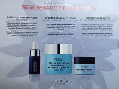 Pack Regenerador Reafirmante marcaSisbela
