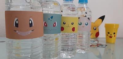 botellas pokemon