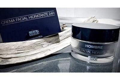 crema facial hidratante 24 horas Vído