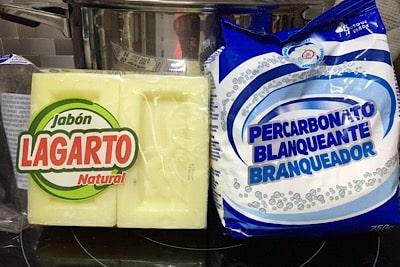 Detergente líquido casero