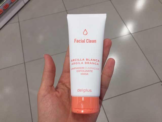 arcilla blanca mercadona - Limpiador Facial